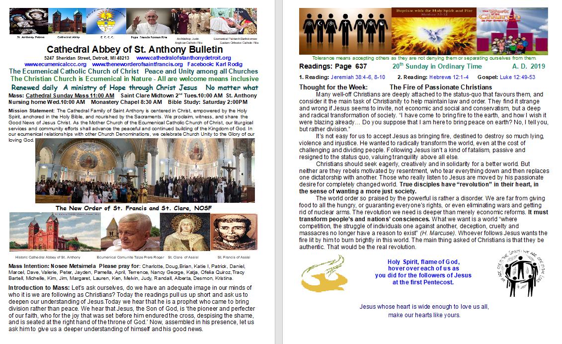 The Worldwide Ecumenical Catholic Church of Christ